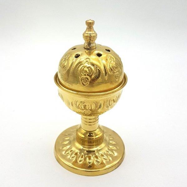 Brass Censer - Grain Incense Burner - Dhahabi Model