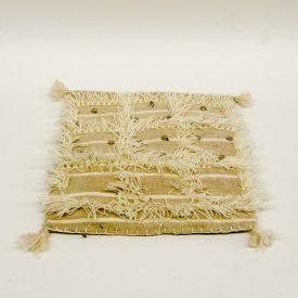 Berber Cushion Cover - Vintage Style - 35cm x 35cm - White