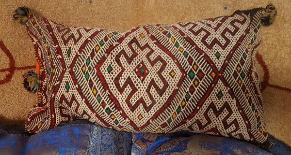 Vintage Authentic BEREBER Cushion - 60 x 30 cm - Ahmedi Model