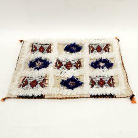Berber Cushion Cover - Vintage Style - 55cm x 45cm - White Background