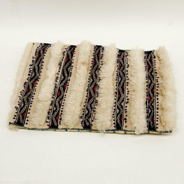 Berber Cushion Cover - Vintage Style - 50cm x 39cm - White Background