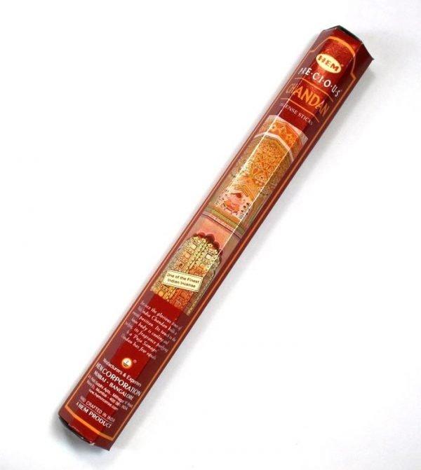 Incense Sticks PRECIOUS CHANDAN - HEM - 20 Sticks