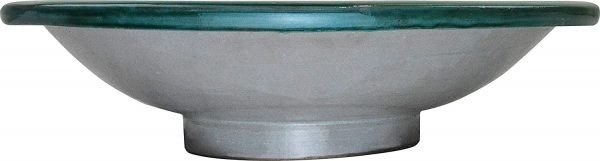 CERAMIC ARABIC PLATE FEZ - 40CM - HAND PAINTED