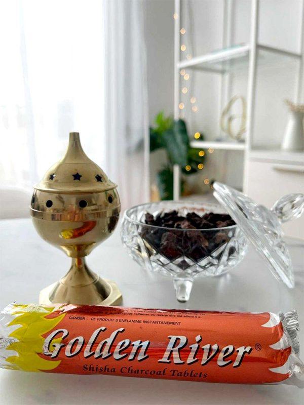 Incense Burner + Coal + Incense to burn + Tweezers Pack