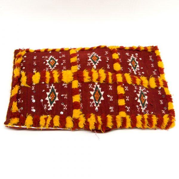 Berber Cushion Cover - Vintage Style - 50cm x 40cm - White Background
