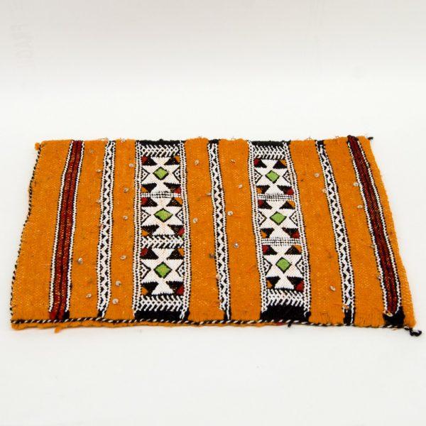 Berber Cushion Cover - Vintage Style - 50cm x 37cm - Orange