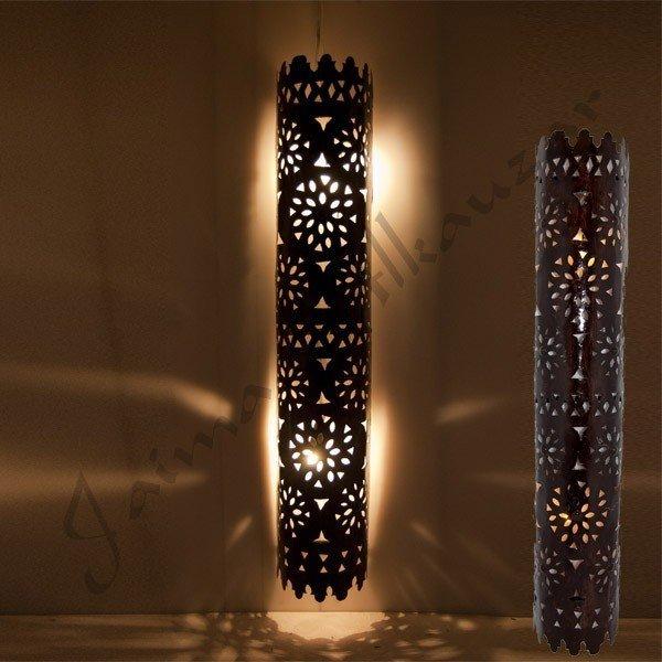 Elongated Moroccan Wall Lamp - Arabic Design - Tawil Model 100cm