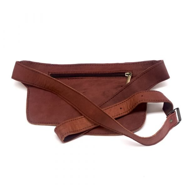 Artisan Fanny Pack - 100% Leather - High Quality Leather Goods - Basita Model