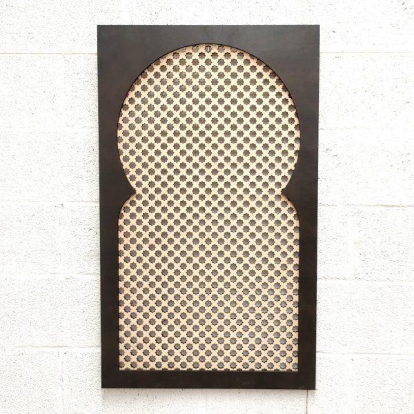 DECORATIVE WINDOW - ARABIC CELOSIA - MODEL Najma Nafila nº2 - 100 x 60cm x 2cm