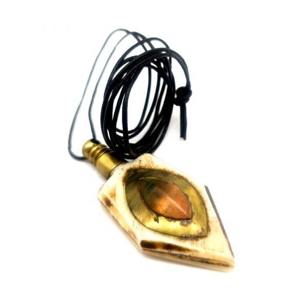 Porta Khol Pendant for Arab Eyes - Arab Eye Drops - Kuhul - Kohl - Adham Model