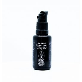 Hemp Body Massage Oil - CBD - Nourishing - Soothing - Antiseptic - Regenerating - 100ml