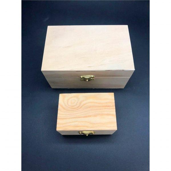 Laser Engraved Wooden Box - Jadia Model