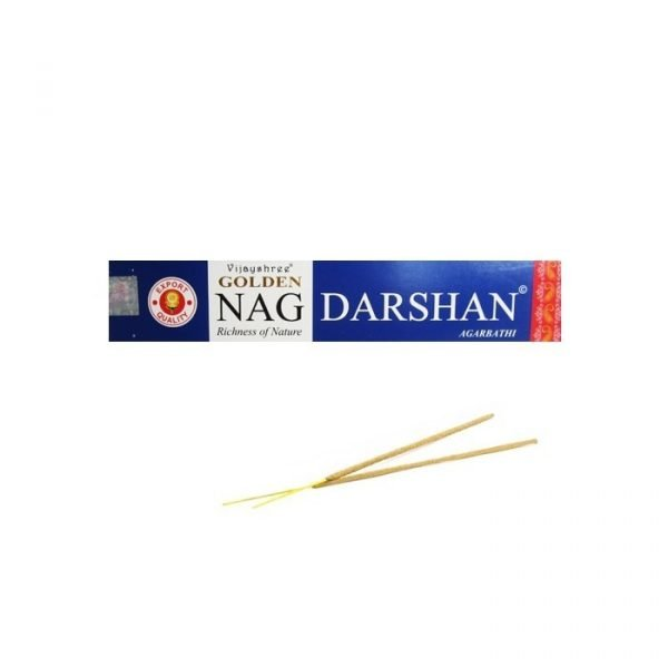 Golden NAG DARSHAN Agarbathi - Natural Incense 15 gr