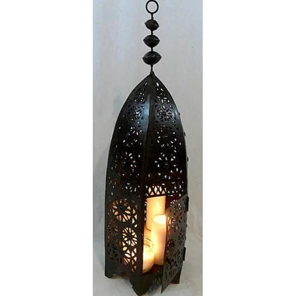 Moroccan Forge Lantern - Saruj Model