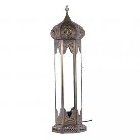 Antique Bronze Table Lantern - DELUXE - Samarkand Model 75 cm