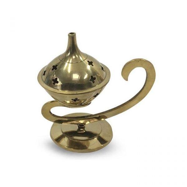 Bronze Censer for Grain Incense - Alif Model