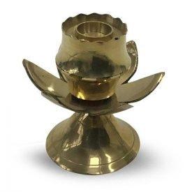 Bronze Censer Rods or Cones - Lotus Design - 6 cm