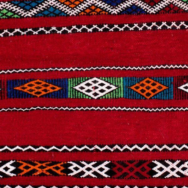 Berber Wool Tapestry - Kilim Ahmar