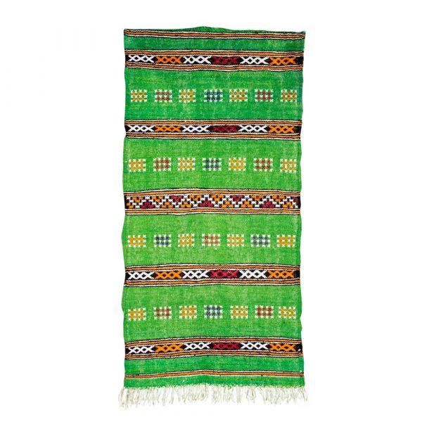 Berber Wool Tapestry - kilim Ahdar - 120 x 58 cm