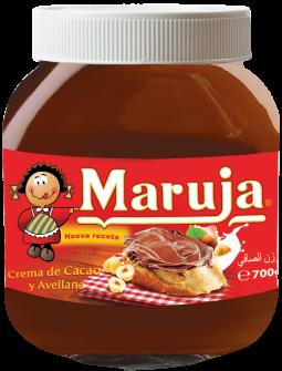 Maruja Cocoa and Hazelnut Cream - 700 gr