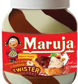 Maruja Cream of Cocoa and Hazelnut Twister - 700 gr