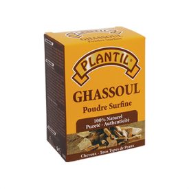 Gasul Powder - Natural Soap - Body and Hair - Clay - Blackberry Stone - Ghassoul 100 gr