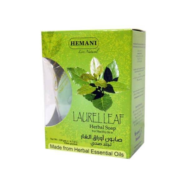 Jabón de Laurel - Aceites Esenciales Naturales - HEMANI