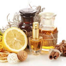 Perfumes and essences for burning