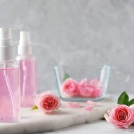 Flower water and edible oils